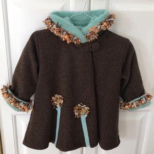 Little Girls Winter Coat by Corky & Co.